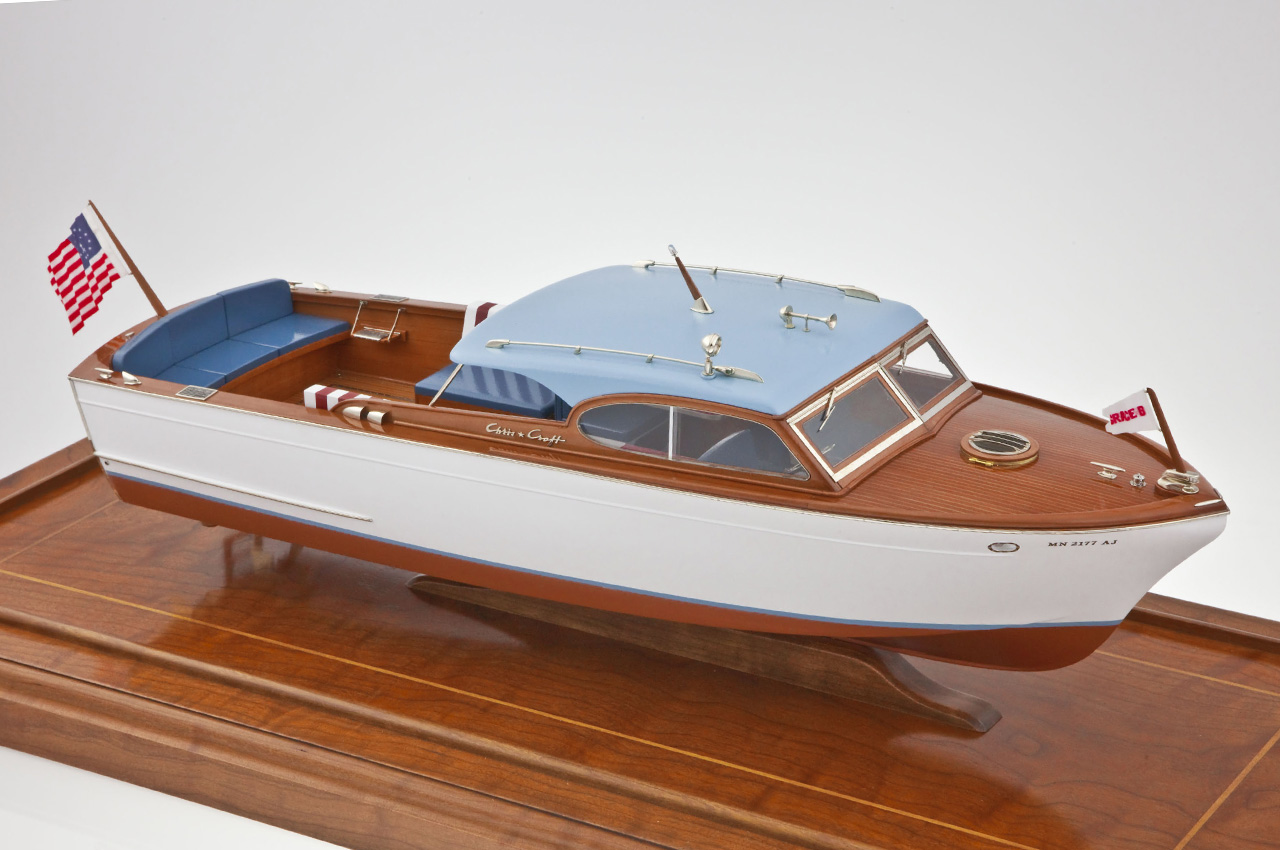 Our Work » Custom Yacht Models